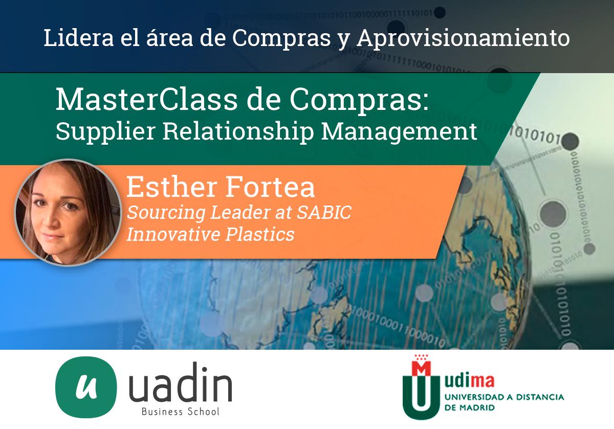 MasterClass de Supplier Relationship Management