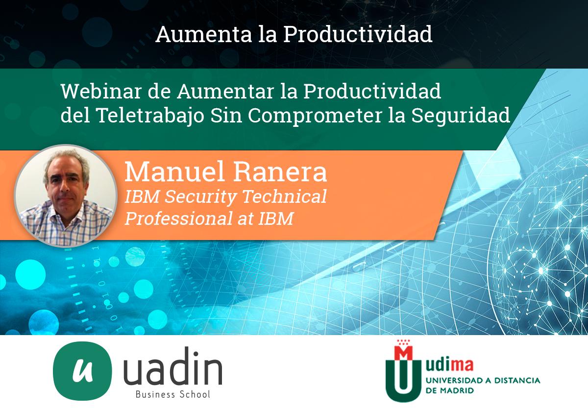 Manuel Ranera- Aumento de Productividad   UADIN Business School