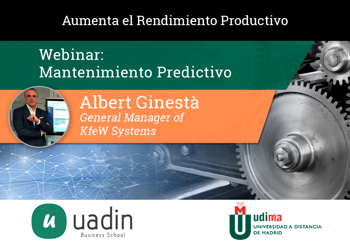 Albert Ginesta - Mantenimiento Predictivo | UADIN Business School