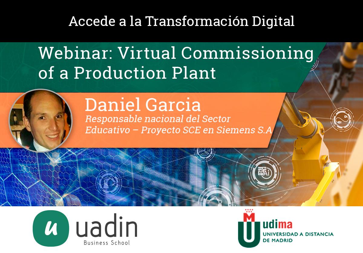 Daniel Garcia Martinez - Virtual Commissioning | UADIN Business School