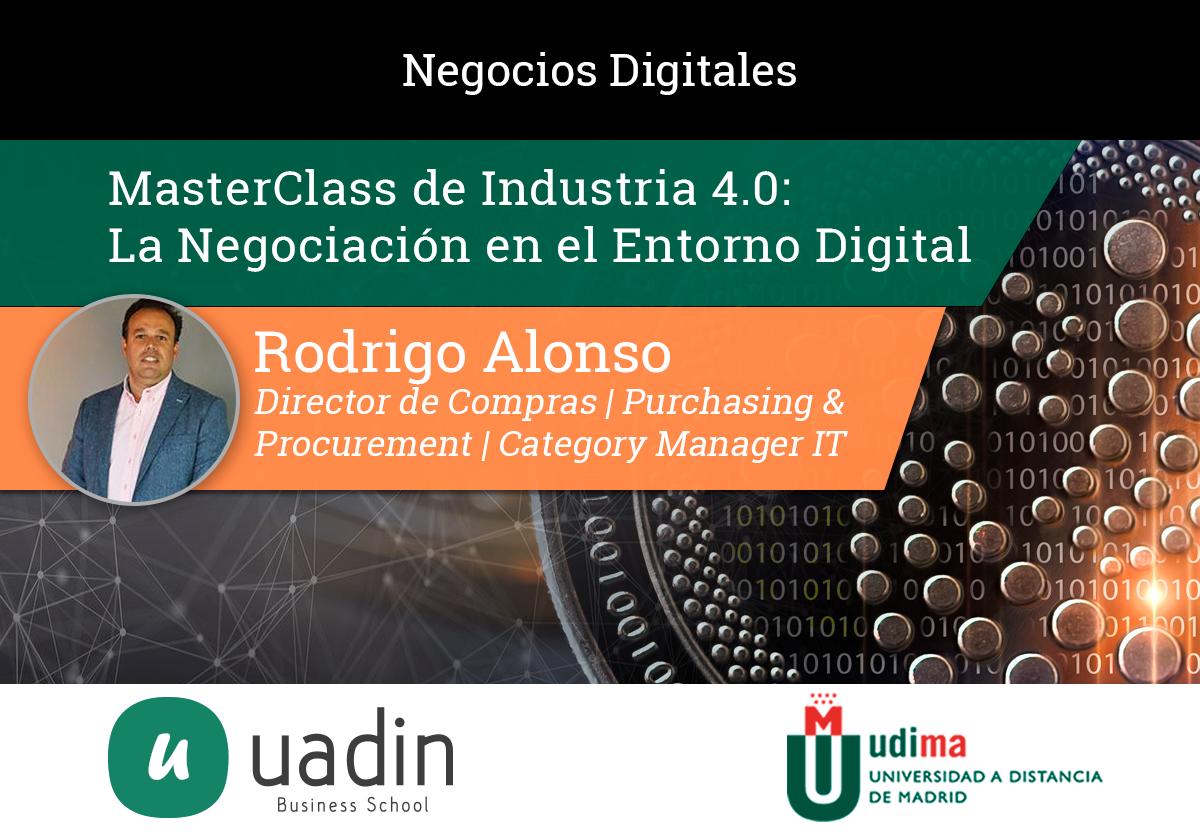 Rodrigo Alonso - La Negociación en el Entorno Digital | UADIN Business School