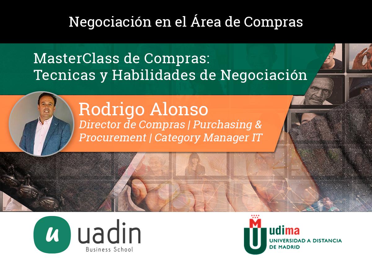 Rodrigo Alonso - Técnicas y Habilidades de Negociación para Compradores | UADIN Business School