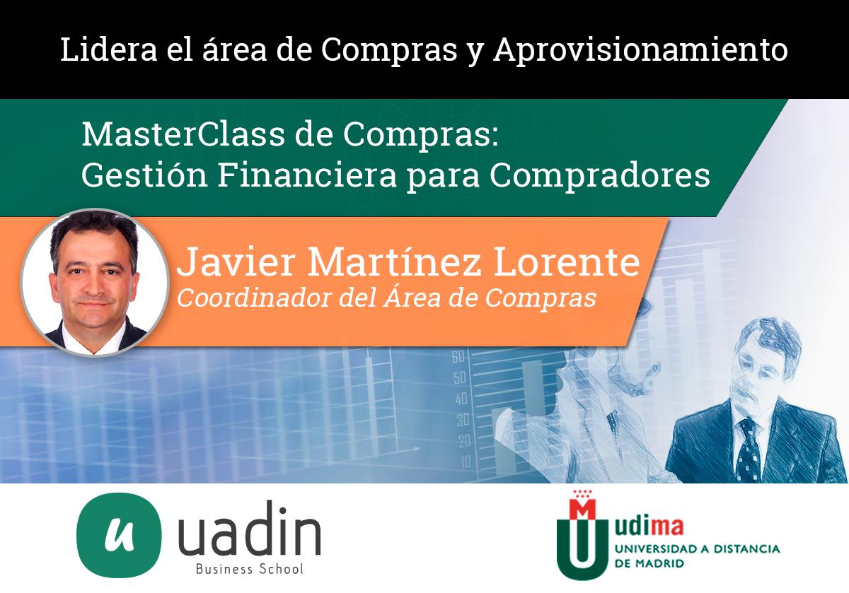 Javier Martinez - Gestión Financiera para Compradores | UADIN Business School