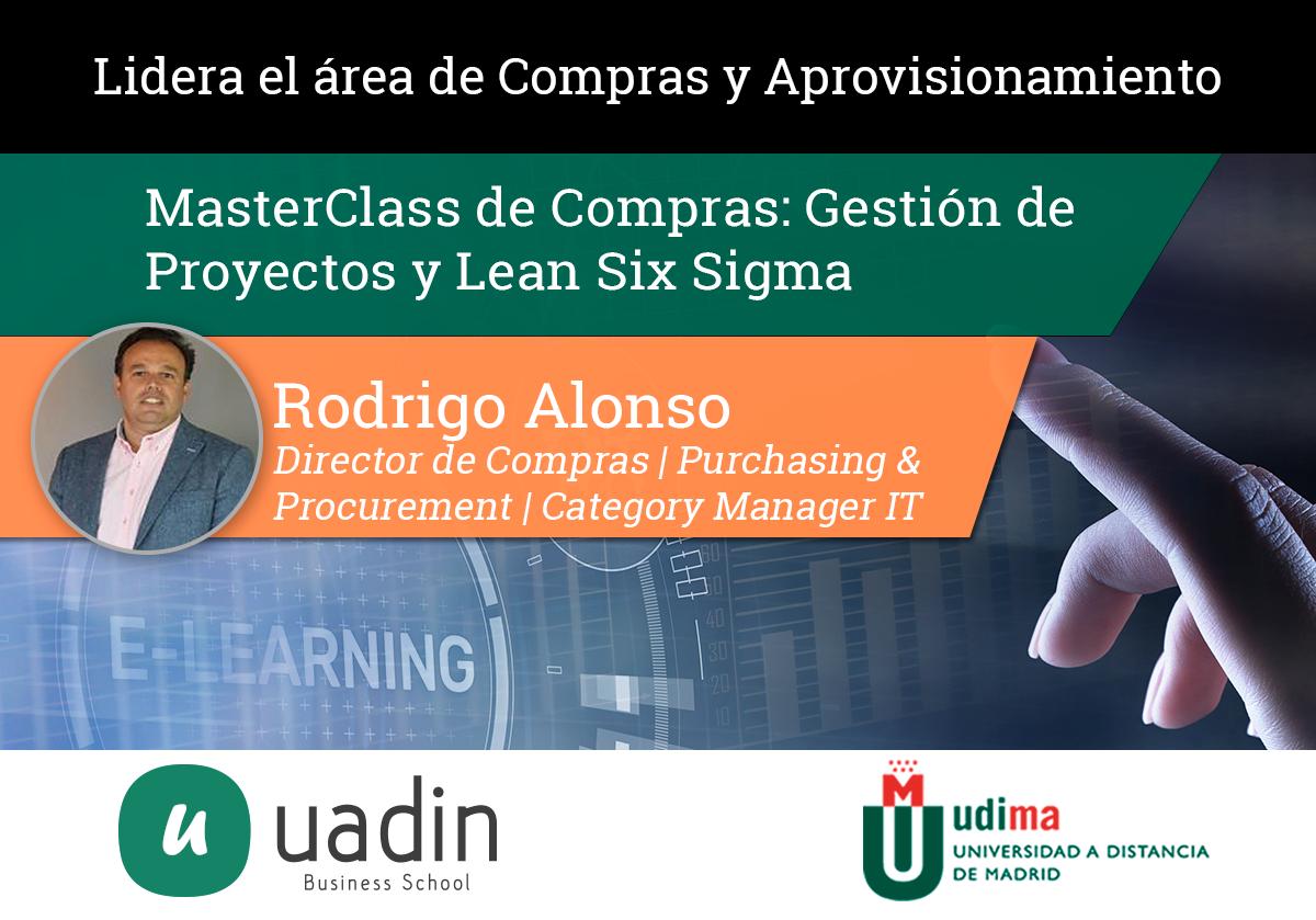 Rodrigo Alonso - Gestión de proyectos y lean Six Sigma | UADIN Business School