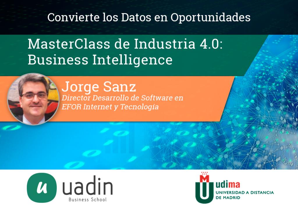 Jorge Sanz - Business Intelligence | UADIN Business School