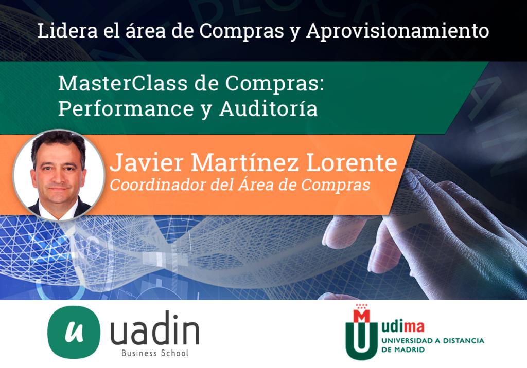 Javier Martinez - Performance y auditoria en Compras | UADIN Business School