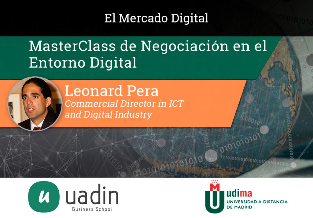 Leonard Pera - La negociación en el entorno digital | UADIN Business School