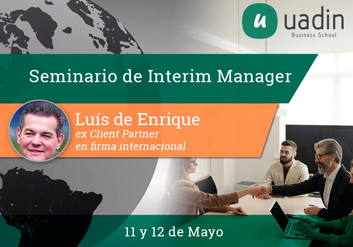 Luis de Enrique - Interim Manager
