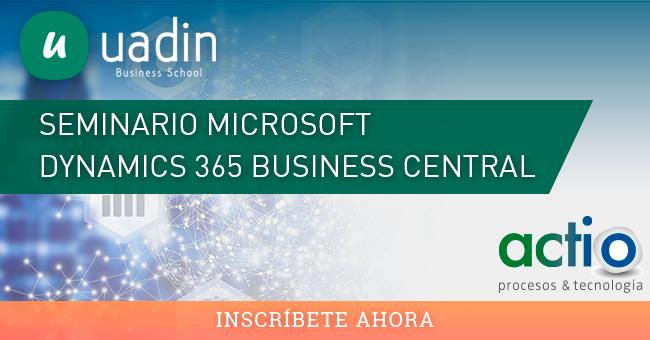 Seminario Microsoft Dynamics 365 Business Central