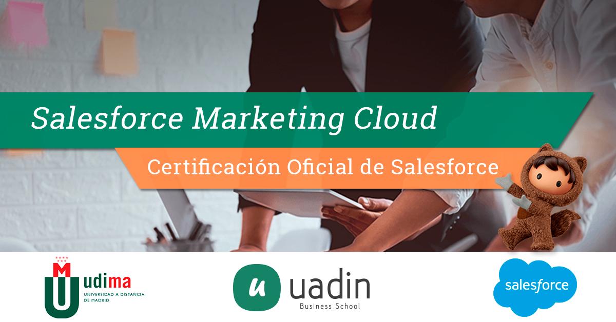 Certificación Salesforce Marketing Cloud